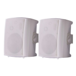 Audac actief speakersysteem 2x 40W - Wit