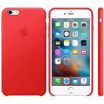 iPhone 6s Plus Leather Case Product Red