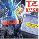 Tape 12mm Lami Black On Yellow (tz631)
