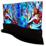 Digital Signage 65in 65ee5c Curved Dual-view Oled Flat Panel 1 X 4