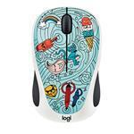 Doodle M238 Wireless Mouse Bae-bee Blue