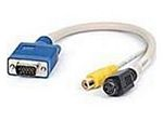 Adapter Upgrade Cable - Kx20 To Quad Sdtv (composite Video / S-video) Rohs