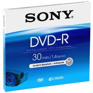 DVD-r Media Mini 1.4GB Single Sided 1pk