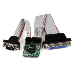 Mini PCI-e Serial Parallel Combo Adapter Card W/ 16950 Uart 1s1p