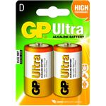 Gp Battery 1.5v Alkaline D 2bat/1pk