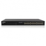 Unmanaged PoE Switch 24 ports 10/100