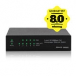 Unmanaged PoE Switch 5 ports 10/100