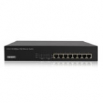 Unmanaged PoE Switch 8 ports 10/100