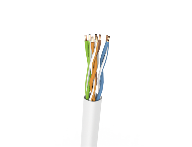Bkt U/utp Pvc Cat5e Grey 24awg 305m Full Copper