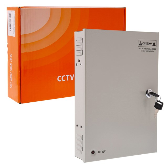 Cctv System Power Supply 18-channel Total 20a