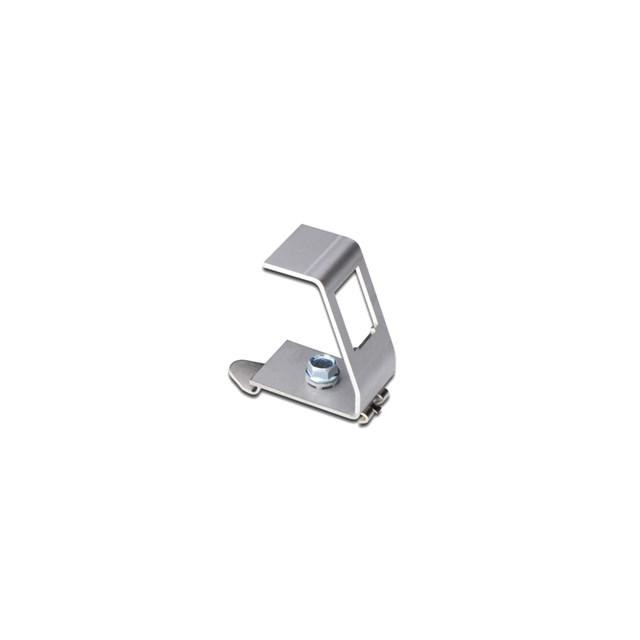 Din-rail Adapter For 1x Keystone Module