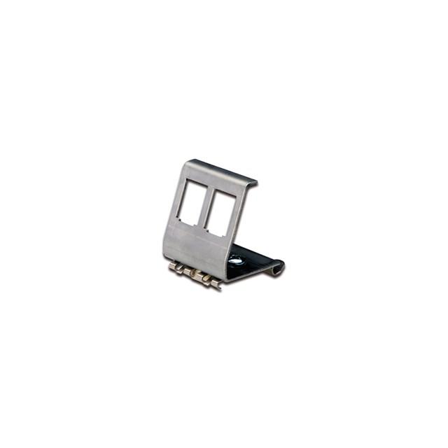 Din-rail Adapter For 2x Keystone Module