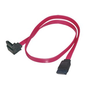 SATA Cable 0 3m 1 Straight 1 Down Left Angled