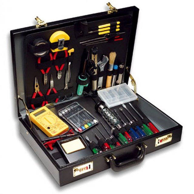 Tool Kit 53 Pieces Briefcase