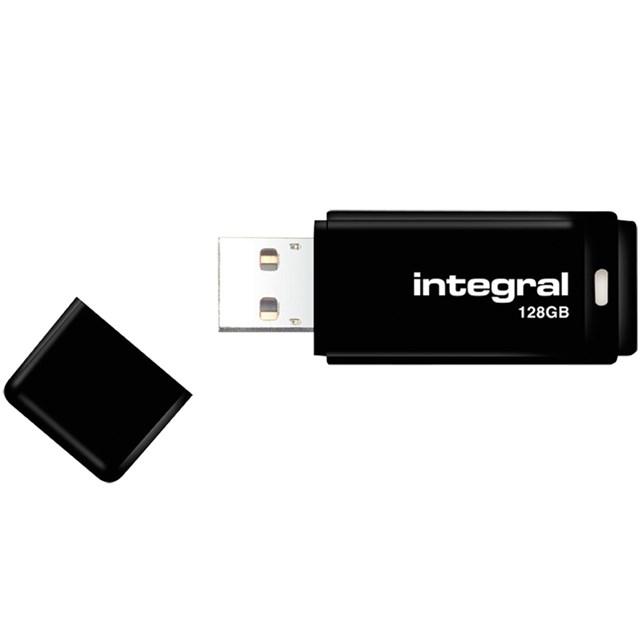 Integral USB 2.0 Flash Drive 16GB Black