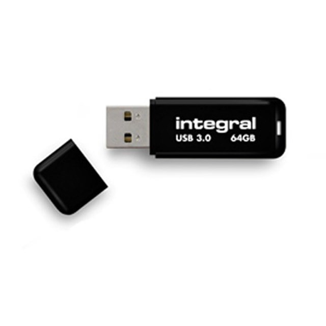 Integral Noir V2 USB 3.0 Flash Drive 128GB